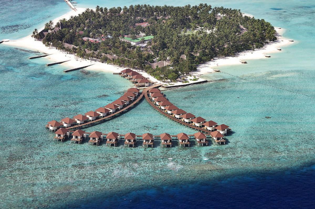 Bravoclub alimath maldive for Disegni di bungalow contemporanei